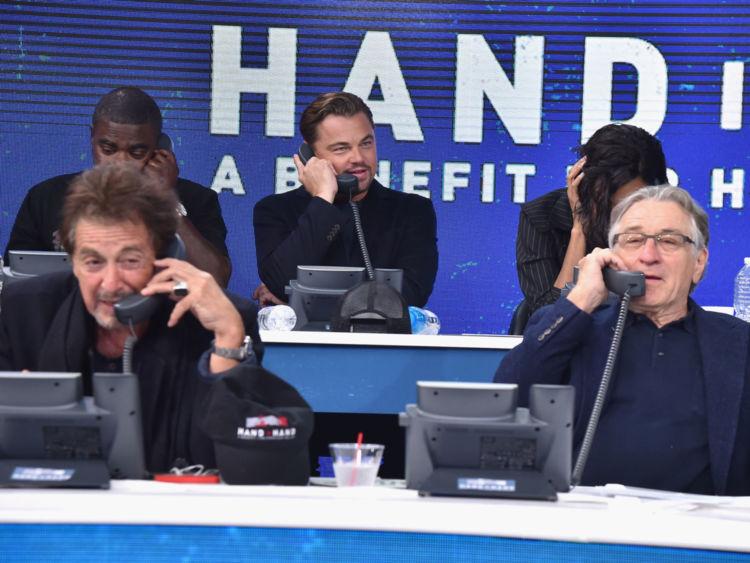 NEW YORK, NY - LE 12 SEPTEMBRE: Dans cette photo fournie à main levée, Al Pacino, Robert De Niro, légende à ABC News & # 39; Good Morning America Times Square Studio le 12 septembre 2017 à New York. (Photo de Theo Wargo / Hand in Hand / Getty Images)
