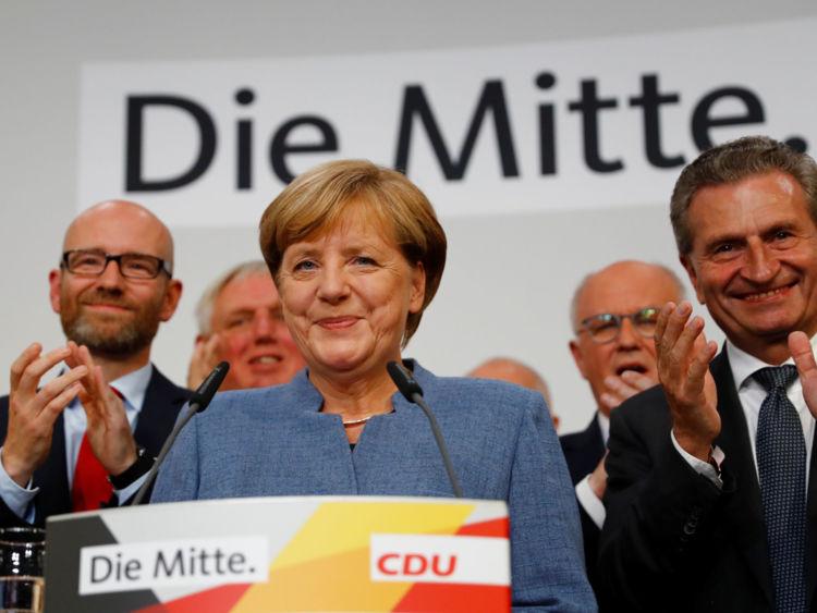 Angela Merkel dit qu'elle espérait un meilleur résultat