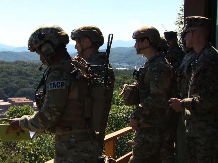 Les troupes américaines participent à un exercice militaire en Corée du Sud