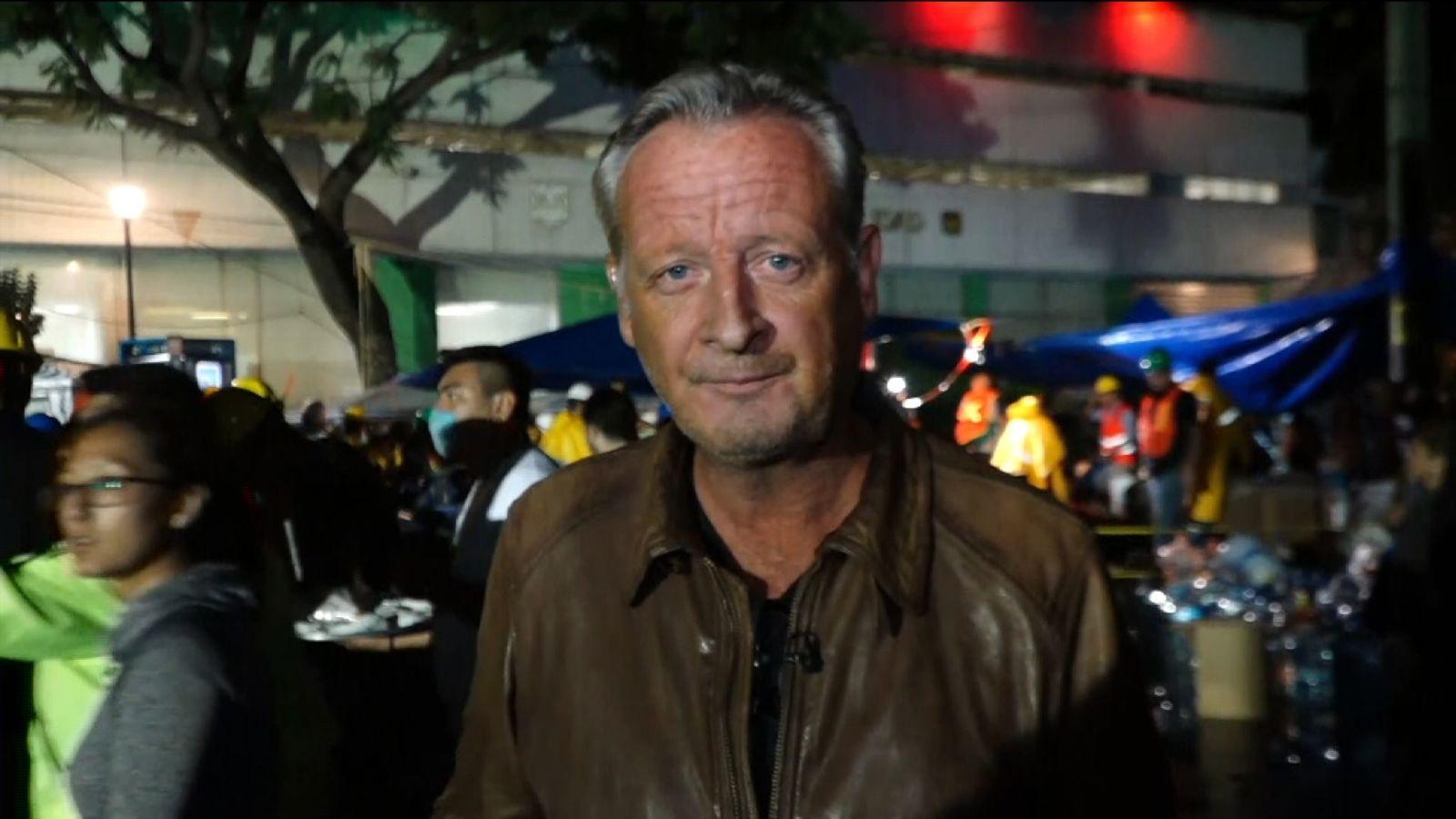 Stuart Ramsay rapports de la ville de Mexico