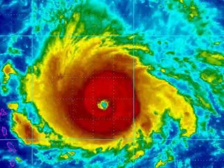 L'ouragan Irma s'approche des îles sous le Vent. Pic: @NHC_Atlantic
