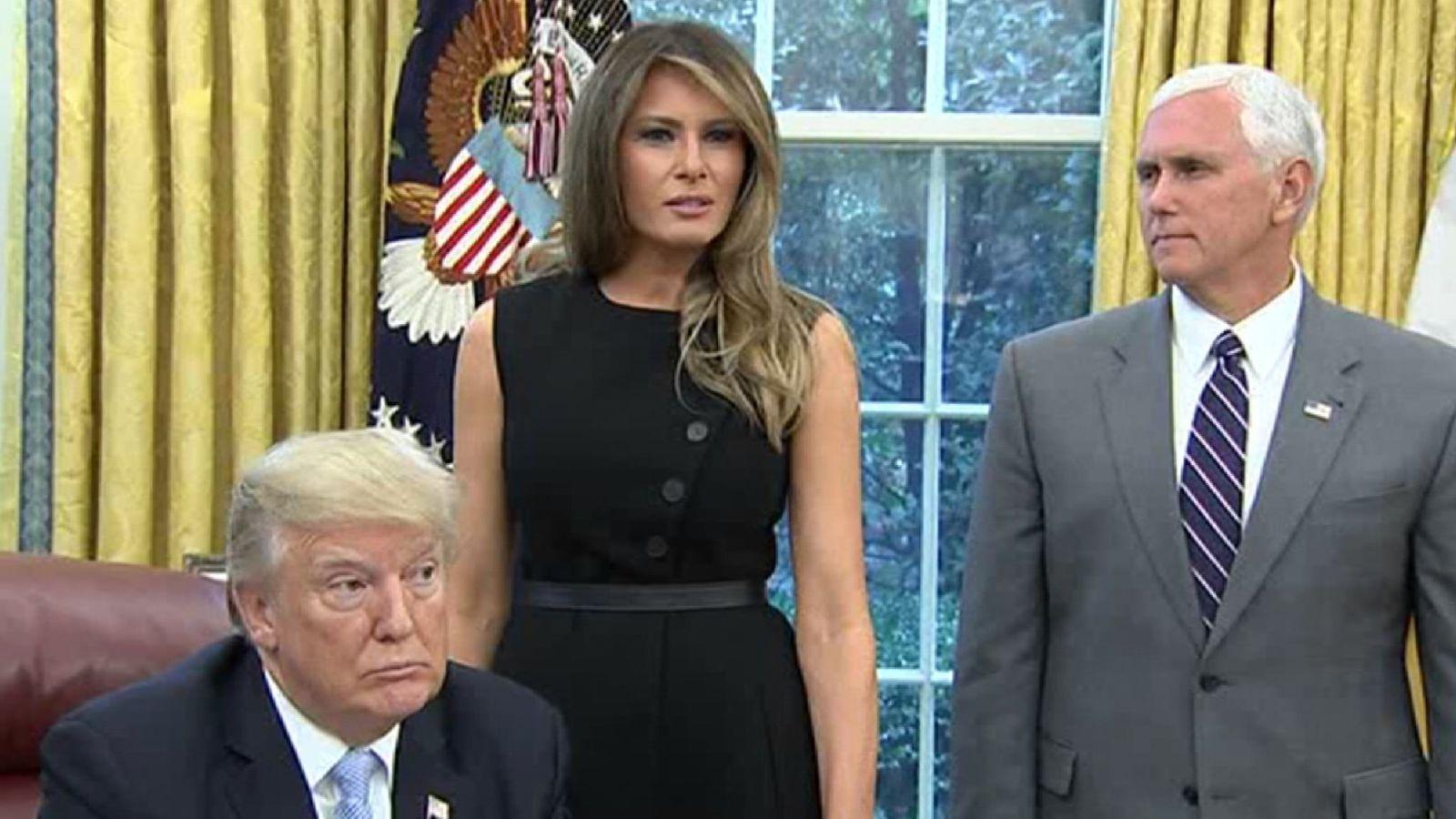 Donald Trump a déclaré à Melania qu'elle a fait un excellent travail en parlant à la nedia