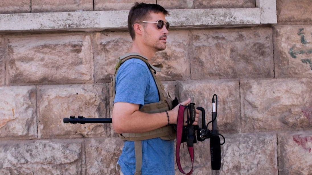 Jim Foley, assassiné par IS en 2014