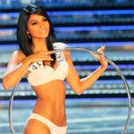 "Ambra Battilana, 19 ans, lors du concours Miss Italia à Rome en 2010 ""/> <noscript><br /> <img src="