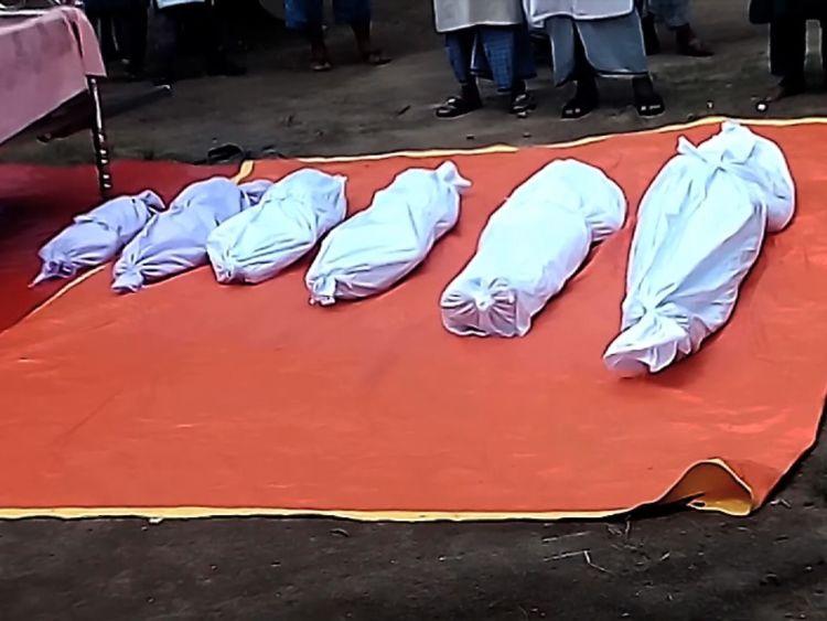 Les corps des enfants aménagés