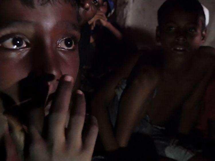 Enfants qui ont survécu au bateau