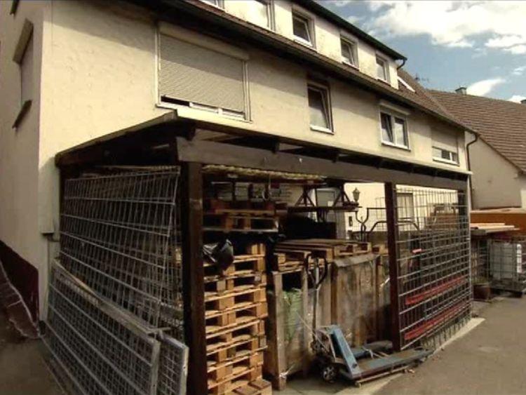 La maison du suspect à Ofterdingen