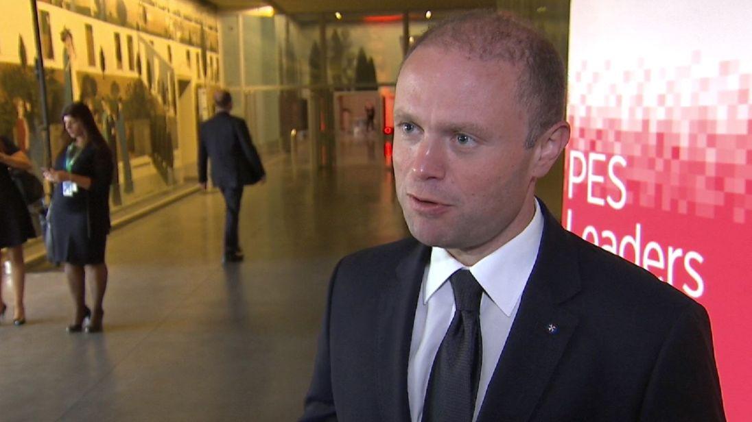 Le Premier ministre maltais Joseph Muscat commente l'état actuel des négociations sur le Brexit