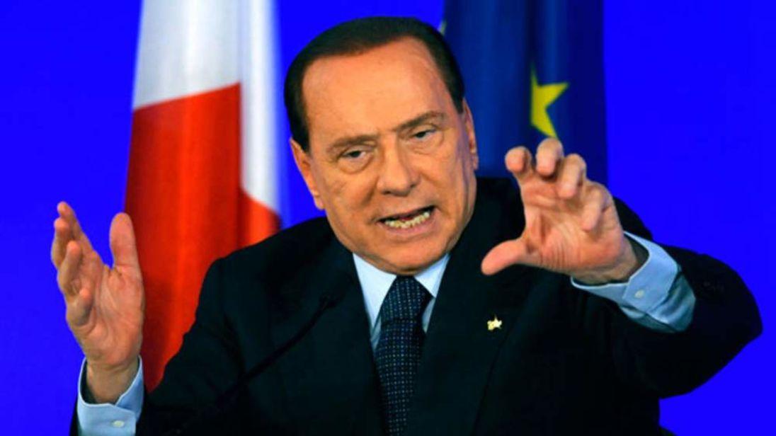 Silvio Berlusconi au sommet du G20 à Cannes