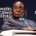 Robert Mugabe au Forum économique mondial de Durban
