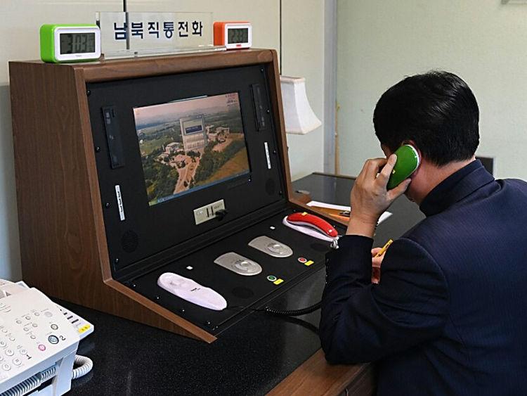 Ouverture de la ligne téléphonique de la Corée du Nord