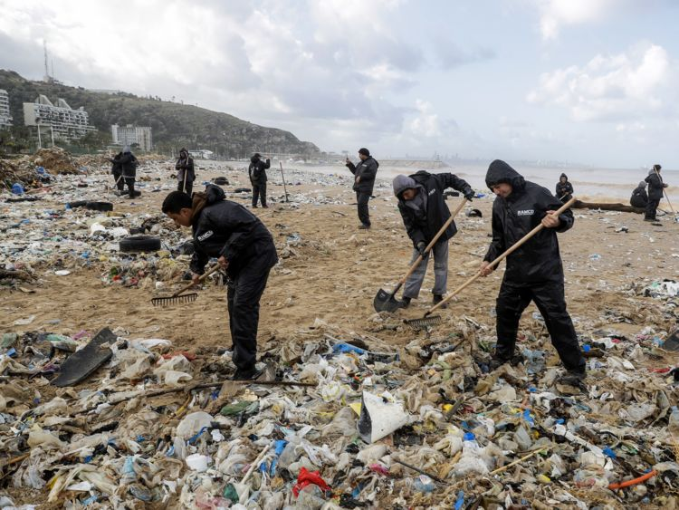 Une grande partie des déchets du Liban est déversée dans la mer