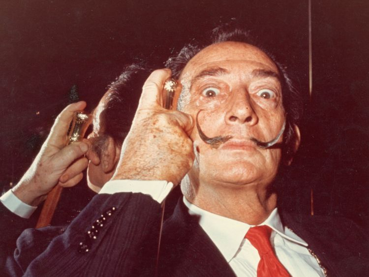 Salvador Dali dans les années 1960