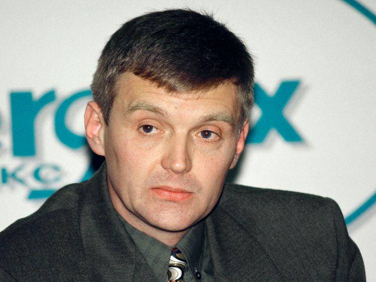 Alexander Litvinenko, photographié en 1998, accusa le président Poutine d'avoir ordonné sa mort