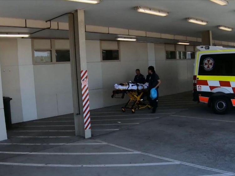 Les patients ont été transportés à l'hôpital par le bus de l'entreprise