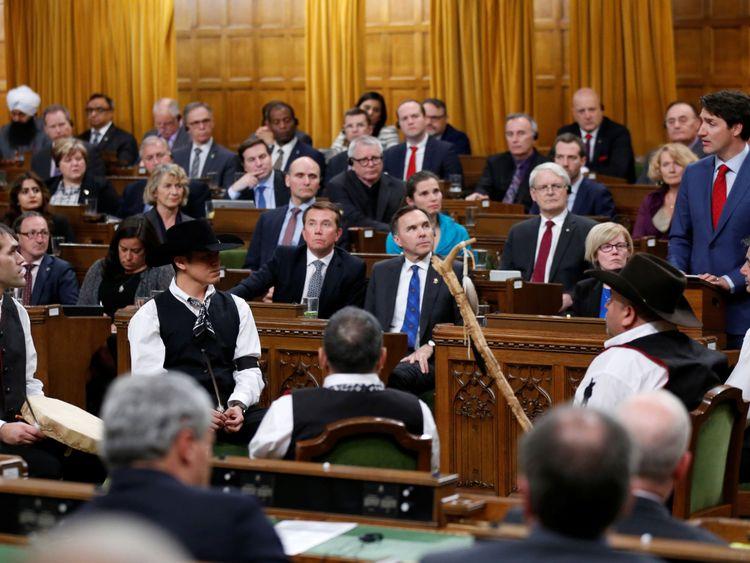 Canada Le premier ministre Justin Trudeau exonère les Tsilhqot de la nation