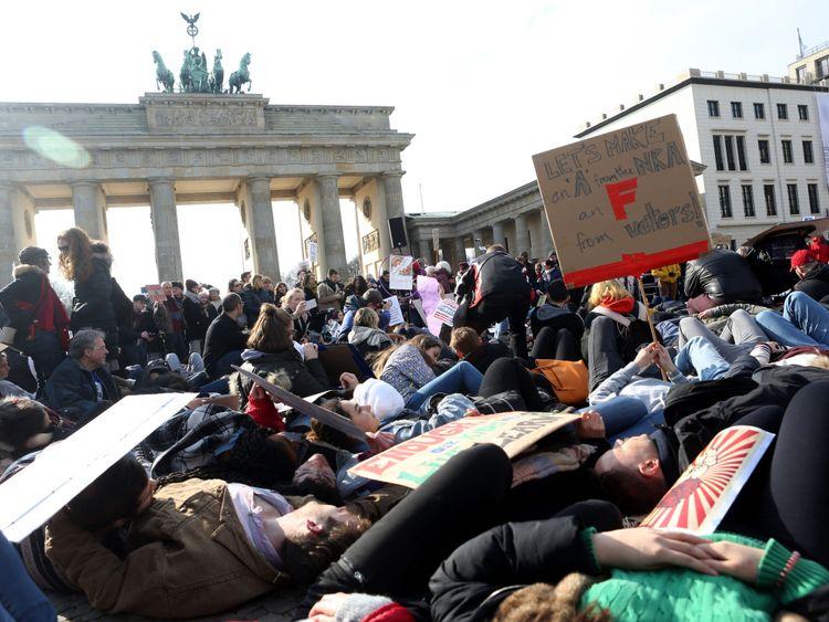 Mars pour nos vies à Berlin