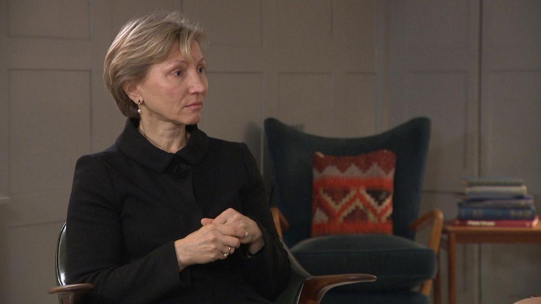 Marina Litvinenko parle à Kay Burley de l'empoisonnement de Salisbury et de la réponse de la Russie.