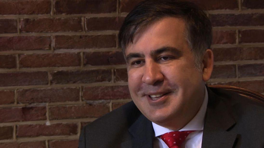 Ancien président géorgien Mikheïl Saakachvili