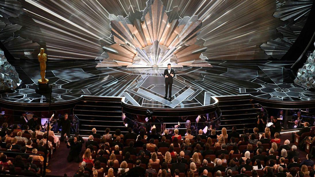 Jimmy Kimmel présente la 90e cérémonie des Oscars