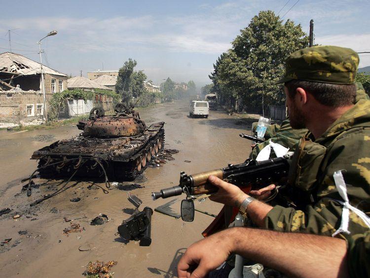 La Russie a envahi la Géorgie en 2008