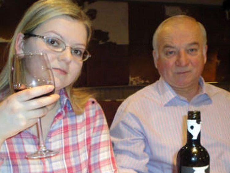 Sergei Skripal et Yulia Skripal