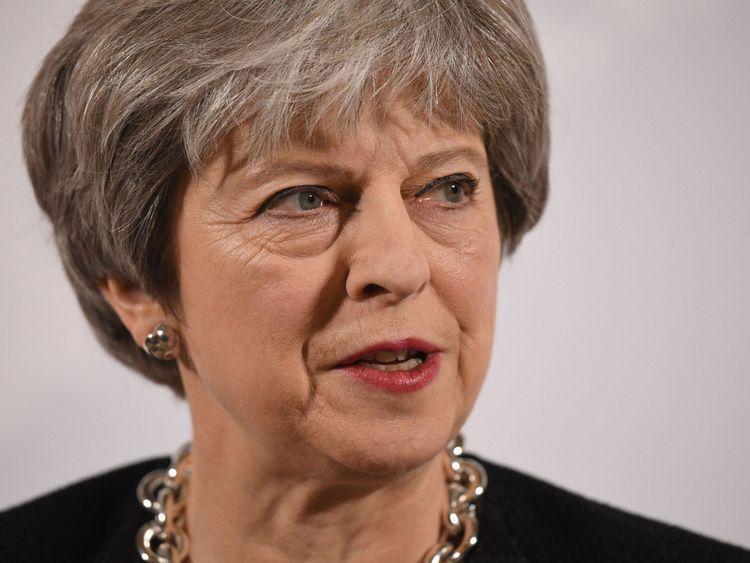 May a prononcé son discours à Mansion House dans la ville de Londres