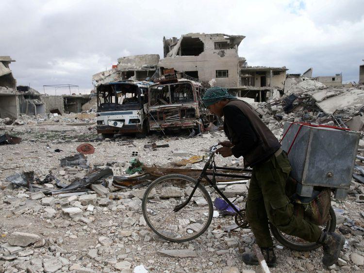 Le régime syrien a été accusé d'avoir perpétré plusieurs attaques chimiques à Douma