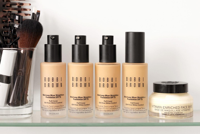 Bobbi Brown Skin Revue et Nuancier de Long-Wear Skin