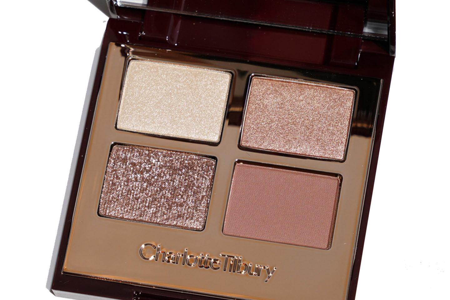 Charlotte Tilbury Plus grands yeux plus brillants Filtre Exaggereyes Palette d'ombres à paupières Review + Swatches