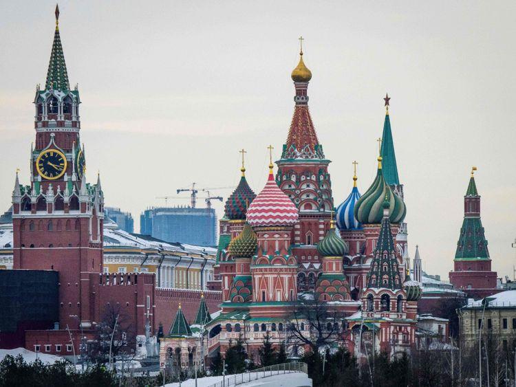 Le Kremlin, la cathédrale St Basile et le parc Zaryadye à Moscou