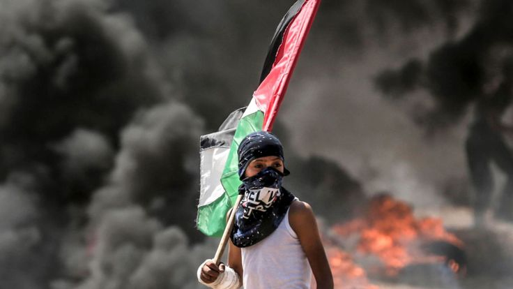 Des Palestiniens ont été tués lundi à la frontière de Gaza alors qu'ils protestaient contre l'ouverture de l'ambassade des Etats-Unis