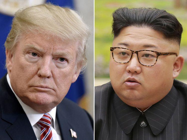Donald Trump et Kim Jong Un