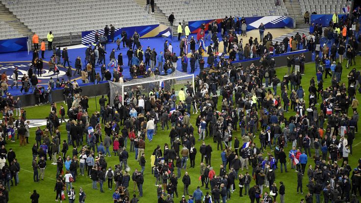 Attaque au Stade de France le 13 novembre 2015