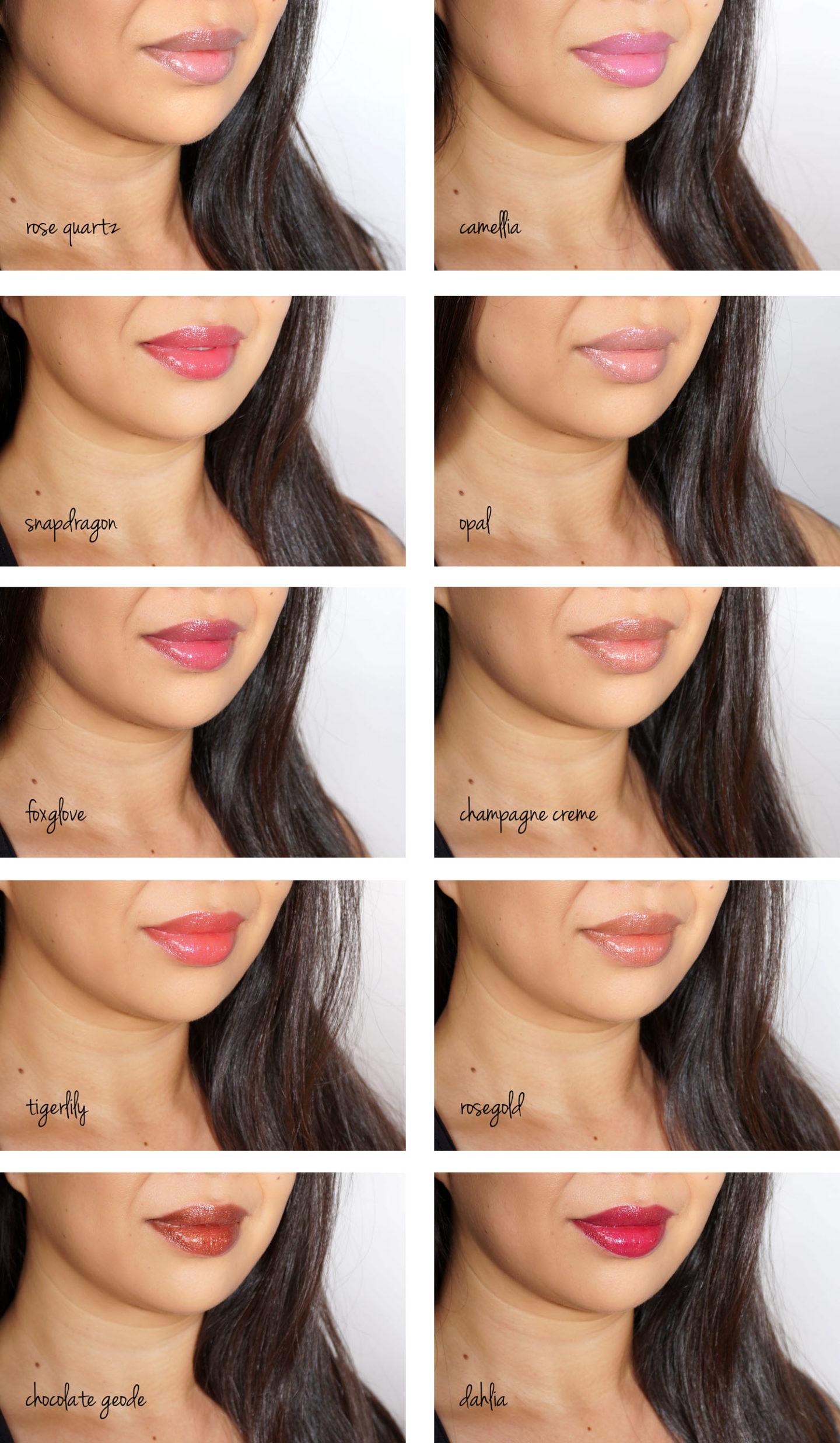 Becca Glow Lip Gloss échantillons