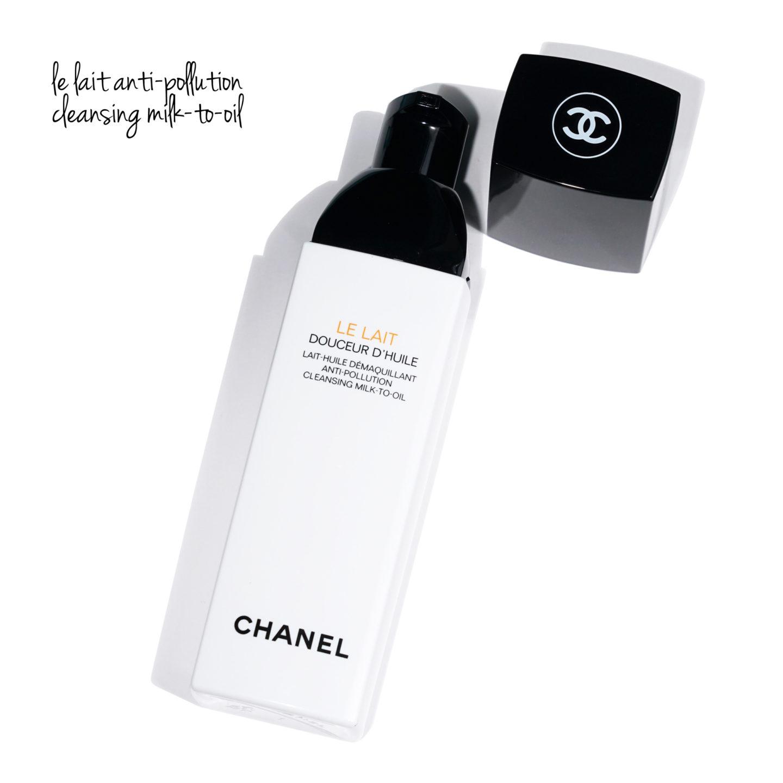 Lait démaquillant Chanel à l'huile