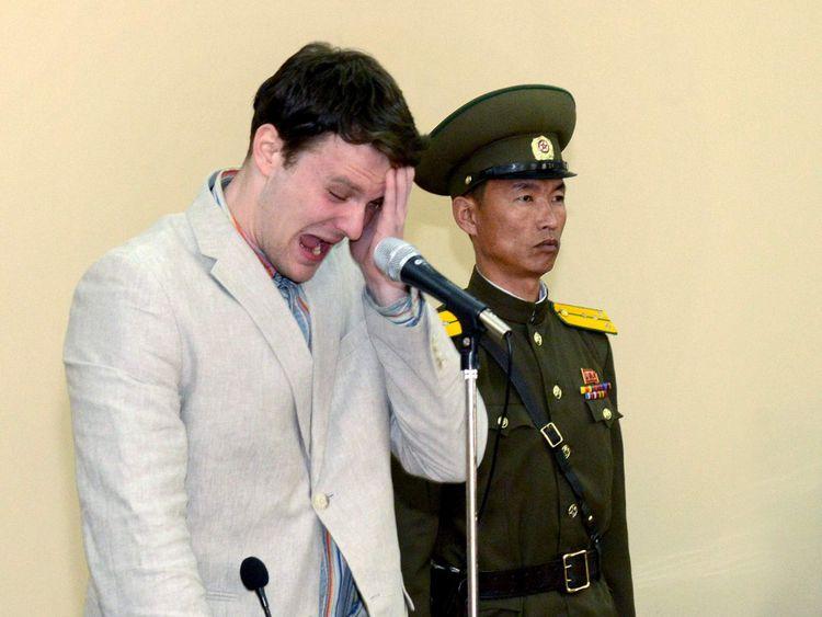 Otto Warmbier est décédé six jours après que la Corée du Nord l'a ramené aux États-Unis dans un coma en juin