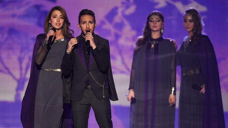 L'entrée de l'Arménie en 2015 a chanté une chanson pour rappeler le 1,5 million tué dans un acte de génocide par l'Empire ottoman [19659006] Image: </span><br />         <span class=