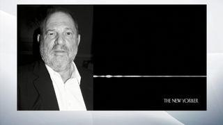 Le New Yorker a publié une copie d'un enregistrement audio qui aurait été fait au entrée de la chambre d'hôtel de Harvey Weinstein
