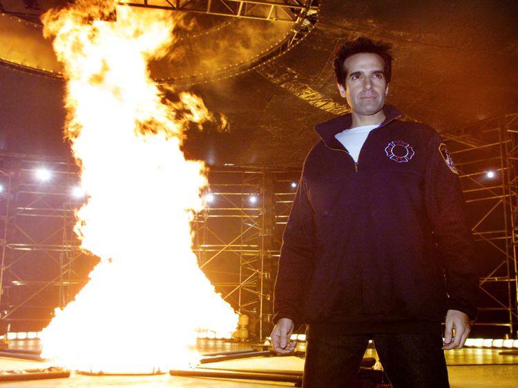 David Copperfield est l'un des artistes les mieux rémunérés au monde