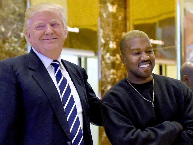 Donald Trump et Kanye West ont profité d'un amour de Twitter