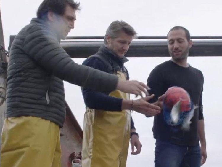 Les pêcheurs espagnols
