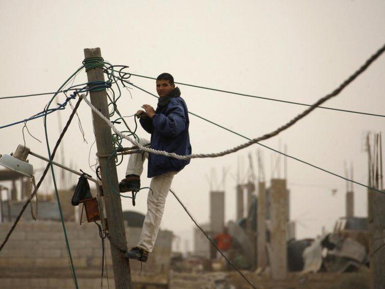 Gaza connaît des pannes d'électricité prolongées