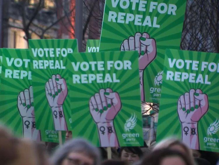 La campagne Yes manifestant avant le vote de vendredi