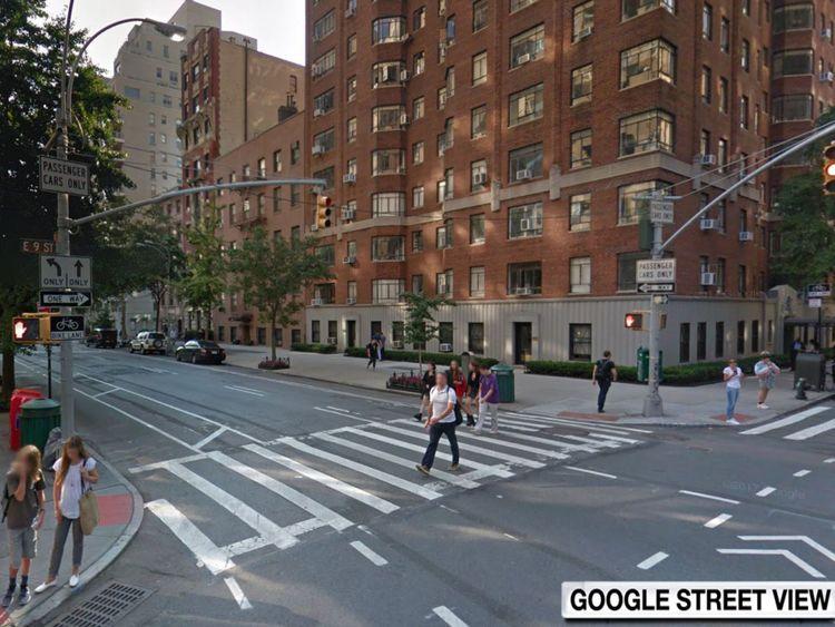 L'accident est survenu à la 9th Street à Fifth Avenue dans Park Slope