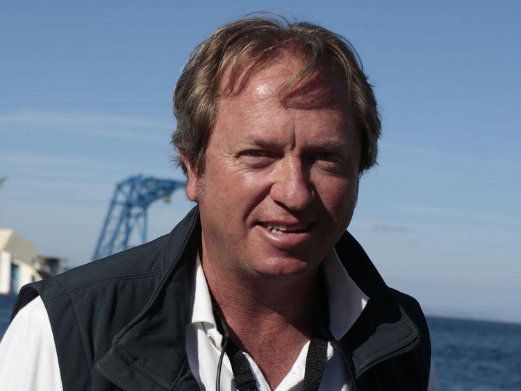 Nick Sloane, expert en sauvetage maritime