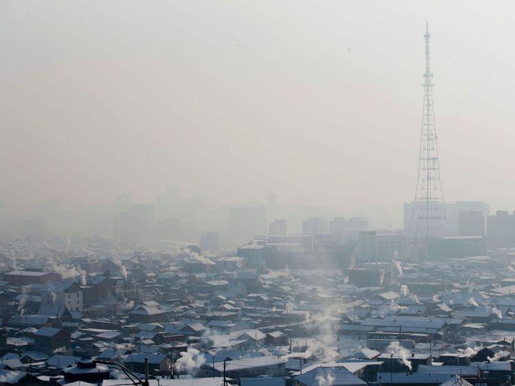 Ulaanbaatar était la ville la plus polluée du monde en 2016