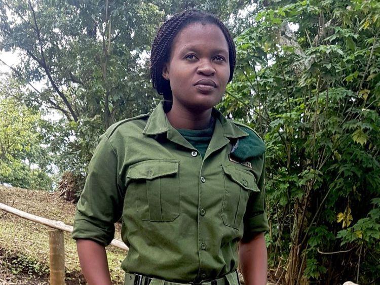 Ranger du parc national des Virunga, Rachel Masika Baraka, tué au combat