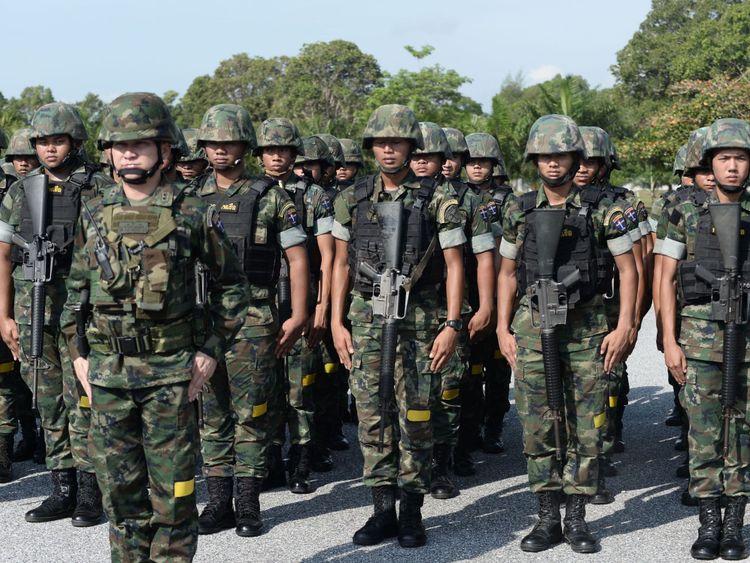 L'armée thaïlandaise a été appelée pour lutter contre la contrebande d'ail