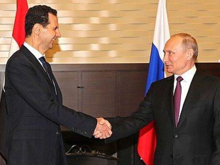 Les dirigeants de la Russie et de la Syrie se rencontrent à Sotchi (Pic: @KremlinRussia_E) [19659005] Image: </span><br />         <span class=